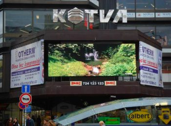 Bonuss-CZ - LED obrazovka OD Kotva Praha
