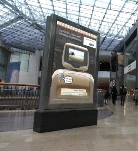 Duální obrazovky JCDecaux