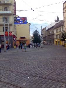 LED obrazovka Anděl Praha