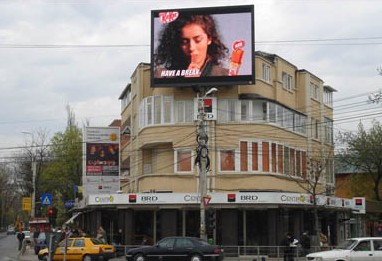 LED obrazovka