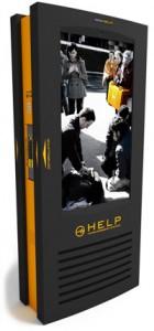 HELP - venkovní samostatně stojící LCD panel