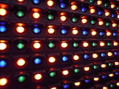 LED obrazovka - diody
