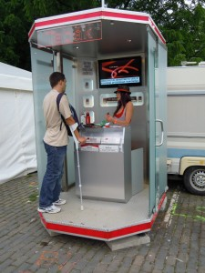 Prague City Festival - kiosek Marlboro