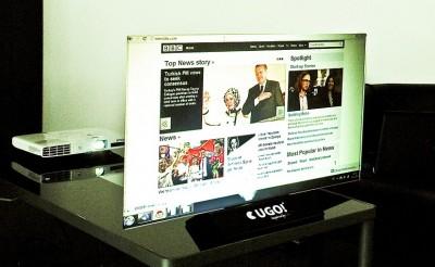 Přenosný projekční screen - UGO! Media