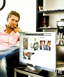 Marek Kolařík (UGO! Media) - přenosný projekční screen