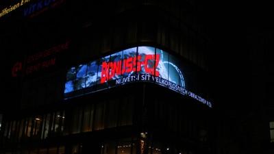 LED obrazovka Bonuss - Václavské náměstí, Praha
