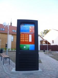 Venkovní LCD imotion - instalace Valašské Klobouky
