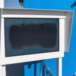 Ukázka černé obrazovky v důsledku špatného chlazení
