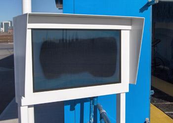 Venkovni LCD displej - černá obrazovka v důsledku špatného chlazení