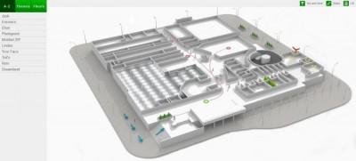 3D wayfinder - 3D průvodce nákupním centrem