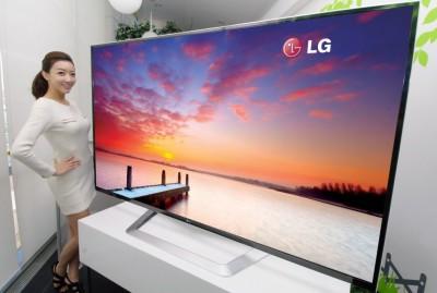 """LG představuje 84"""" 3D televizor s rozlišením UD"""