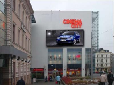 LED obrazovka - OC Forum Liberec