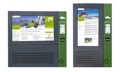 Venkovni LCD - Nabíjecí stanice pro elektromobily