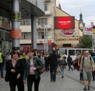 LED obrazovka Andel, Praha - Bonuss-CZ