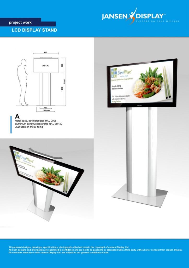 Jansen Display: Digital signage v restauracích veřejného stravování
